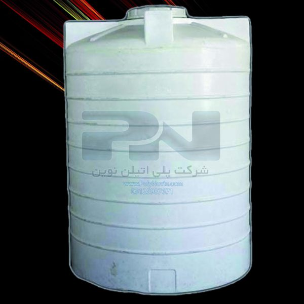تانکر آب 2000 لیتری سه جداره پلاستیکی با شش سال ضمانت تعویض