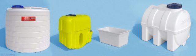 مخازن پلی اتیلن تولیدی شرکت طوس فدک4a